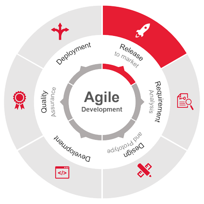 Our custom Agile development process